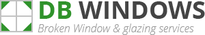 Gravesend Broken Window Logo